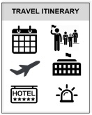 travel itinerary