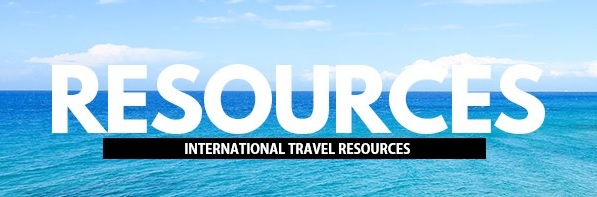 travel resources - international